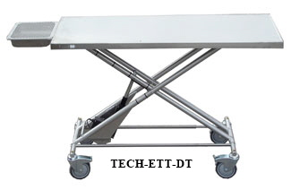 Electric Transport Table with Dental Tray