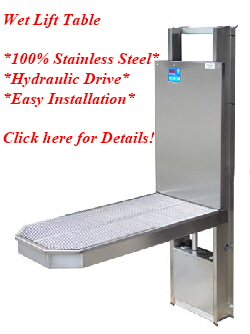 New Dental Wet Surgery Table, CLick for Details !
