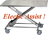 Electric Assist Transport Table, Click For Details !